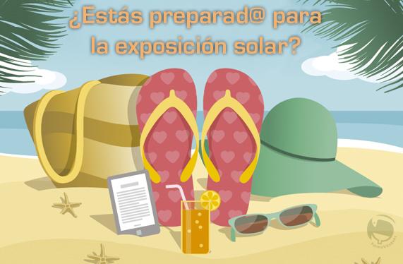 estas preparado para la exposicion solar