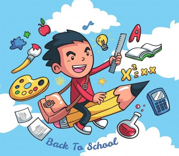 fondo-creativo-de-chico-con-elementos-escolares_23-2147660456