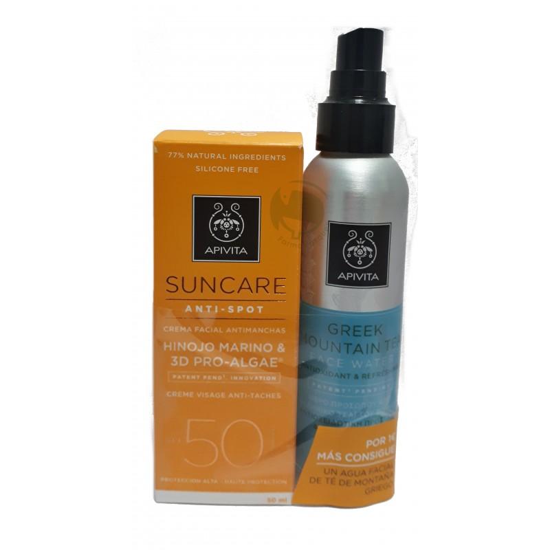 apivita-suncare-promo-crema-facial-antimanchas-spf50-agua-te-de-montana-griego-100-ml